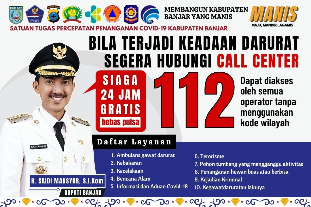 Panggilan Darurat Call Center 112